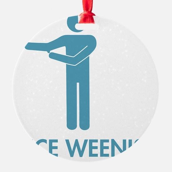 Nice Weenis - Blue Ornament