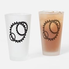 Lowe Gear Sprocket Drinking Glass