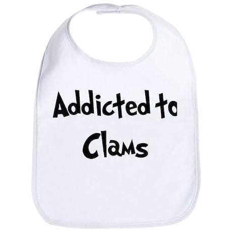 Addicted to Clams Bib