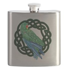 Celtic Eclectus Parrot Flask