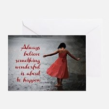 Always Believe Greeting Card