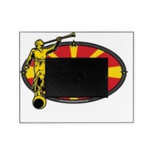 Macedonia Mission - Macedonia Flag - Picture Frame