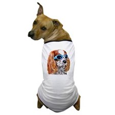 Dexter In Doggles Dog T-Shirt