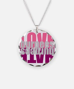 Love Hate Burpees Necklace