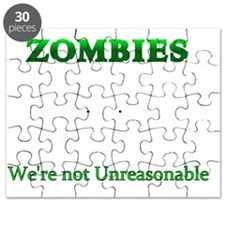 Zombie Reasonable for Dark Articles Puzzle