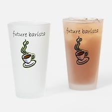 future barista Drinking Glass