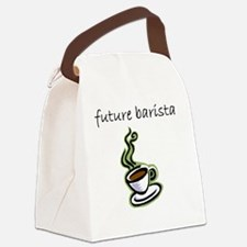 future barista Canvas Lunch Bag