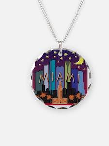 Miami Skyline Mega Color Necklace