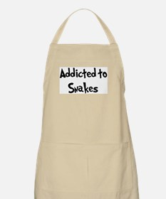 Addicted to Snakes BBQ Apron