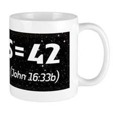 Jesus = 42 with Bleed Mug