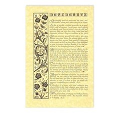 maize stone calli parchme Postcards (Package of 8)