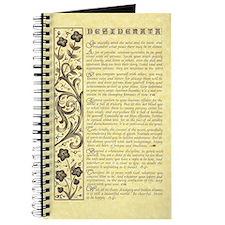 maize stone calli parchment desiderata Journal