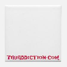 SHAKE THE SAND - BLACK Tile Coaster
