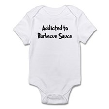 Addicted to Barbecue Sauce Infant Bodysuit