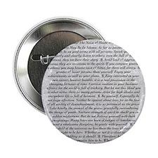 "The Desiderata Poem by Max Ehrmann 2.25"" Button"