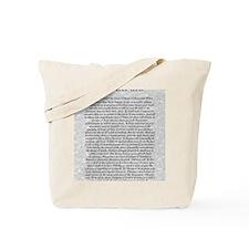 The Desiderata Poem by Max Ehrmann Tote Bag