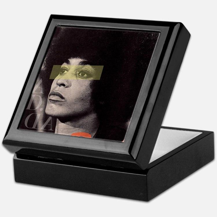 Angela Davis Keepsake Box