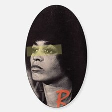 Angela Davis Sticker (Oval)