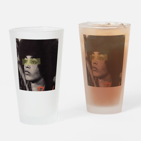 Angela Davis Drinking Glass