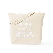 Triathlon Super Power Tote Bag
