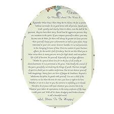 florentine medicea desiderata   Oval Ornament