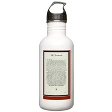 The Desiderata Poem by Water Bottle