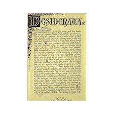 maize stone florentine parchment  Rectangle Magnet