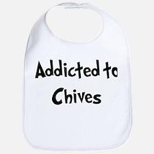 Addicted to Chives Bib
