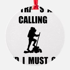 Trails Calling Go Ornament
