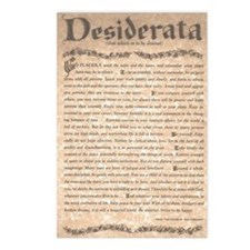 The Desiderata Poem by Ma Postcards (Package of 8)