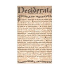 The Desiderata Poem by Max Ehr Decal