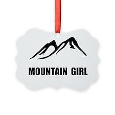 Mountain Girl Ornament