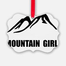 Mountain Girl Ornament
