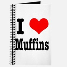 I Heart (Love) Muffins Journal