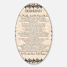 The Desiderata Poem by Max Ehrmann Decal