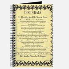 The Desiderata Poem by Max Ehrmann Journal