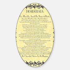 The Desiderata Poem by Max Ehrmann Decal