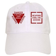 Danger - Weapons Cooling Mug Baseball Cap