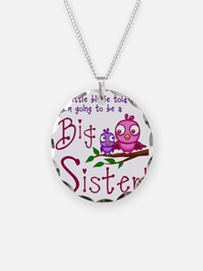 Birdie Big Sister Necklace