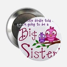 "Birdie Big Sister 2.25"" Button"