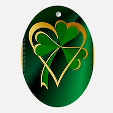 I Love St. Patricks Oval Ornament