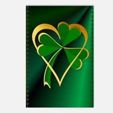 I Love St. Patricks Postcards (Package of 8)