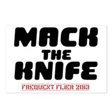 MACK THE KNIFE - FREQUENT Postcards (Package of 8)