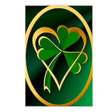 I Love St. Patricks Postcards (Package of 8)