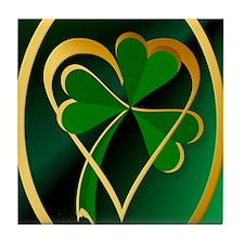 I Love St. Patricks Tile Coaster