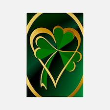 I Love St. Patricks Rectangle Magnet