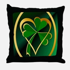 I Love St. Patricks Throw Pillow
