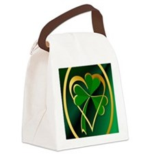 I Love St. Patricks Canvas Lunch Bag
