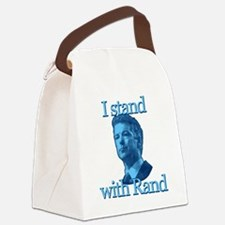 I STAND WITH RAND Canvas Lunch Bag