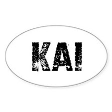 Kai Oval Decal